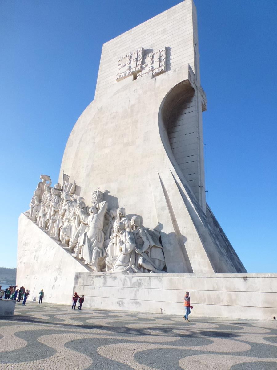 Monument to the Discoveries in Belem, Portugal.
